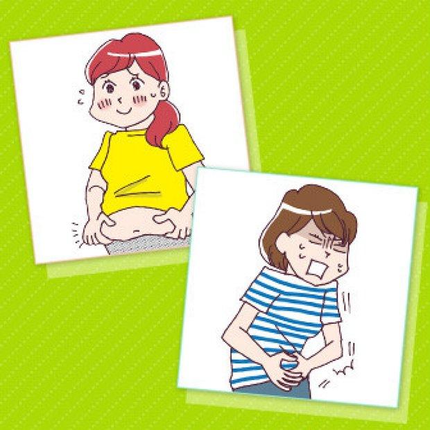 ぽっこりお腹診断 | お腹が出ている原因は? 凹ます方法は?